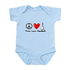 Peace, Love, Handbells Body Suit