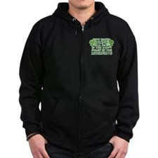 Drink All Day Zip Hoodie