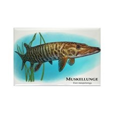 Muskellunge Rectangle Magnet