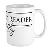 Constant Reader Full Light Mug