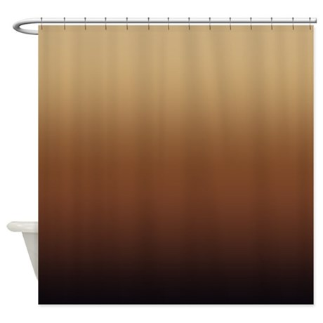 gifts awesome bathroom d cor shades of brown shower curtain