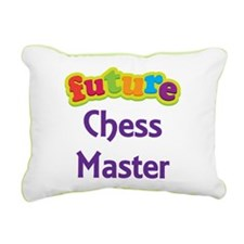 Future Chess Master Rectangular Canvas Pillow