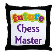 Future Chess Master Throw Pillow
