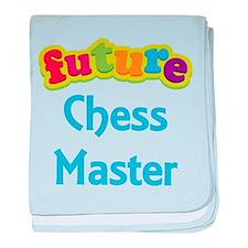 Future Chess Master baby blanket