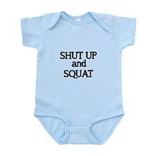 Shut up and Squat Body Suit
