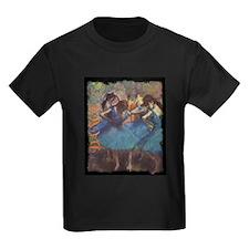 Degas Dancers in Blue T-Shirt