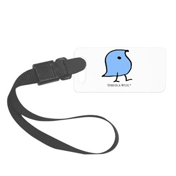 This Is A Wug Small Luggage Tag