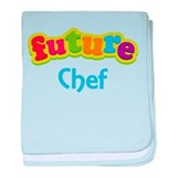 Future Chef baby blanket