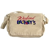 Weekend at Barney's Messenger Bag