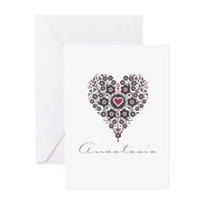 Love Anastasia Greeting Card