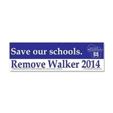 Save our Schools Car Magnet 10 x 3