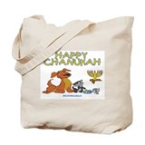 I Love Chanukah Tote Bag