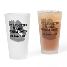 AF Dad Daughter Wears CB Drinking Glass