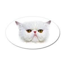 Grumpy Cat 20x12 Oval Wall Decal