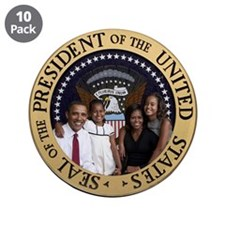 "First Family 3.5"" Button (10 pack)"