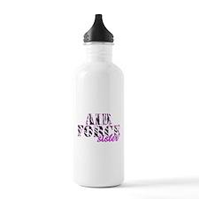 AF Sister Zebra Water Bottle