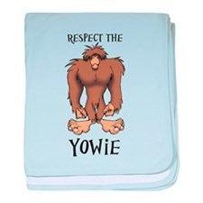 RESPECT THE YOWIE baby blanket