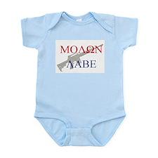 Molon Labe Body Suit