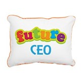 Future CEO Rectangular Canvas Pillow
