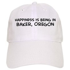 Baker - Happiness Baseball Cap