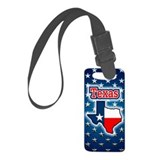 Texas Small Luggage Tag