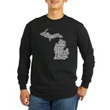 MichiganFishing Long Sleeve T-Shirt
