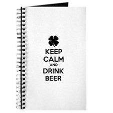 Keep calm and drink beer Journal