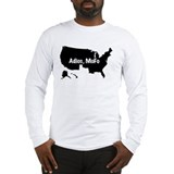black_adios.gif Long Sleeve T-Shirt