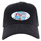 Funny Aviation cartoon Baseball Hat