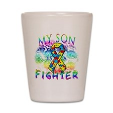 My Son Is A Fighter Shot Glass