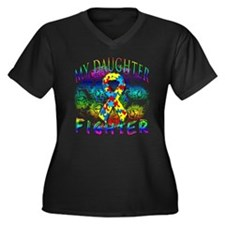 My Daughter Is A Fighter Plus Size T-Shirt
