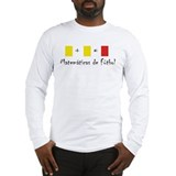 spanish math upload Long Sleeve T-Shirt