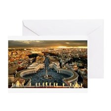 St Peters Square Greeting Card