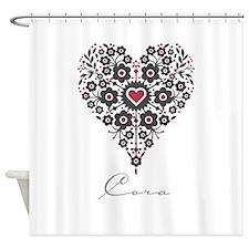Love Cora Shower Curtain