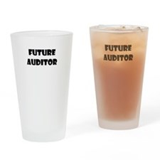 Future Auditor Drinking Glass