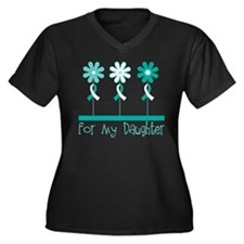 Cervical Cancer Daughter Women's Plus Size V-Neck