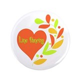 "Line Dancing Heart 3.5"" Button"
