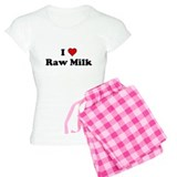 I Heart Raw Milk Pajamas