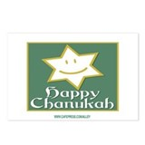 Happy Chanukah Postcards (Package of 8)