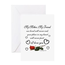 Cool Love your mother Greeting Card