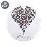 "Love Elsa 3.5"" Button (10 pack)"