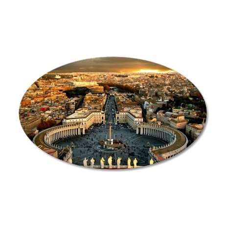 St Peters Square Wall Decal