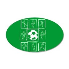 Soccer design Wall Decal