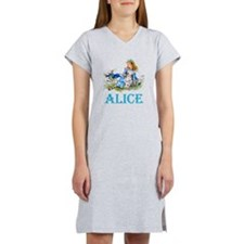 ALICE IN WONDERLAND - BLUE Women's Nightshirt