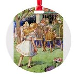 Alice Woodward004X.png Round Ornament