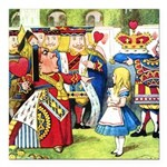 SQ ALICE QUEEN.png Square Car Magnet 3