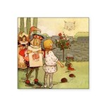 Alice in Wonderland013 SQ.png Square Sticker 3