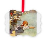 Alice in Wonderland006 SQ.png Picture Ornament
