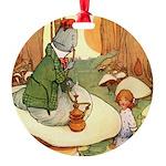 Alice in Wonderland009_SQ.png Round Ornament