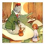Alice in Wonderland009_SQ.png Square Car Magnet 3